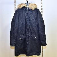 Ladies Denim Parka