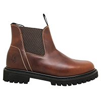 Men's 6 Inch Twin Gore Leather Boot