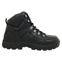Men's 6 Inch Leather Work Boot with Steel Toe Cap