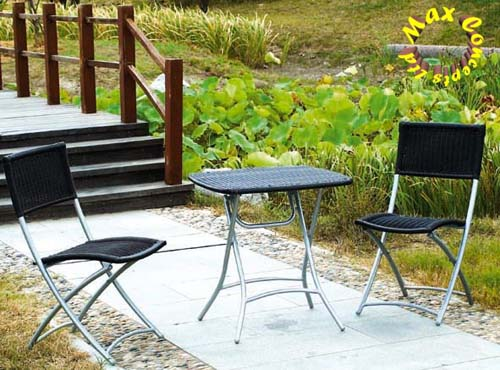 Steel Furniture - Wicker Series