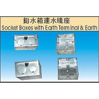 Socket Boxes With Earth Terminal & Earth