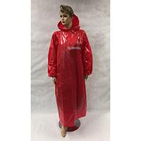 Disposable Rain Poncho with Sleeves