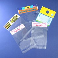 BOPP Self-Adhesive Bags with Different Type Style Header
