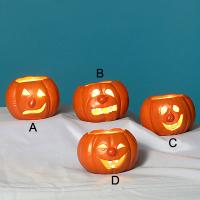 Pumpkin Candle Holders AP26002