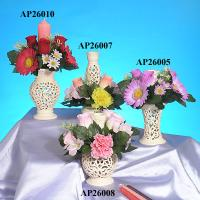 Candle Holders - Flower arrangement dia 20 cm