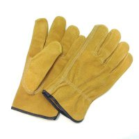 Split Pig Leather Driver's Glove
