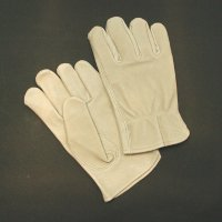 Pig Grain Leather Driver's Glove