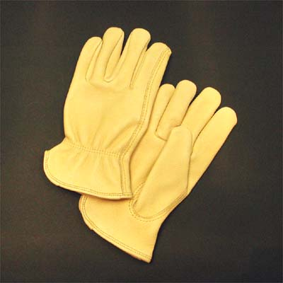 Cow Grain Leather Driver's Glove