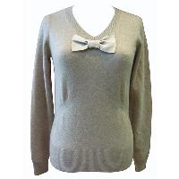 Pullover with Ribbon