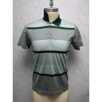 Men's 100% Double Mercerized Cotton Knitted Polo Shirt