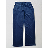Men's 85% Cotton 15% Polyester Velour Knitted Pant