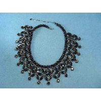 JET STONES NECKLACE, B10525-1