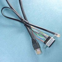RJ45 to RJ11 To DB15P Cable Assembly