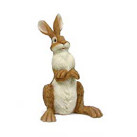 Polyresin Rabbit Figurine