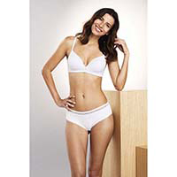 Whisper --A Wire-free Moulded Bra with Lace Detail & Scallop Finishing