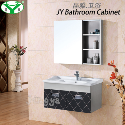Stainless Steel Bathroom Vanity with Mirror Medicine Cabinet Commercial and Modern A-022