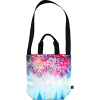 SEXTONbags (M) -printedNUTS Collection- (illusion Peony)