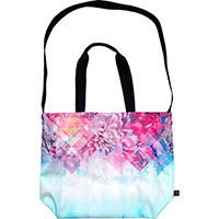 SEXTONbags (XL1.0) -printedNUTS Collection- (illusion Peony)