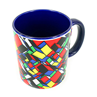 ChildHOOD Re-VISit -Rubik's Cube- Coffee Mug