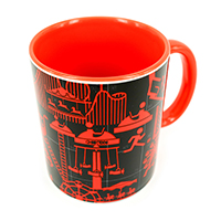 ChildHOOD Re-VISit -Revreation Chess- Coffee Mug