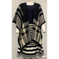Ladies' Knitted Poncho