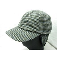 Men's Ball Cap with Earflap