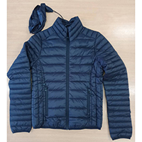 Woven Packable Padded Hood Jacket