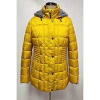 Woven Shiny Quilted Padding Jacket with Hood