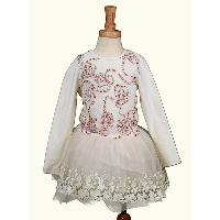 New!! Lastest Design Popular Puffy Layers Kids Pure Cotton Party Dress