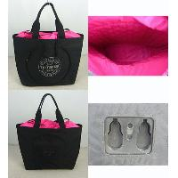 Nylon Black With Twin Grab Straps Waterproof Tote Cyclo Bag