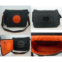 Nylon Black With Shoulder Strap Waterproof Messenger Cyclo Bag
