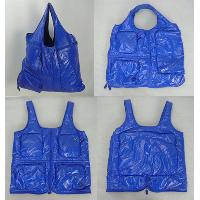 Fashionable shopping bag - Blue, 4 size option  S size:WA 18581/1  Medium:WA 18582/1  Large: WA 18583/1  XL: WA 18584/1