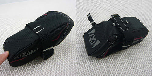 Polyester Black Bicycle Accessories Bike Bag