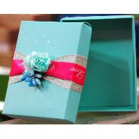 Cardboard paper gift packaging box