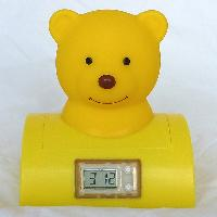 Bear Digital Clock Press Light