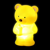 Pacifier Bear Simple Night Light