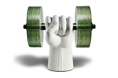 Strong Hand Data Disc Holder