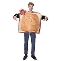 Peanut Butter Bread Costume