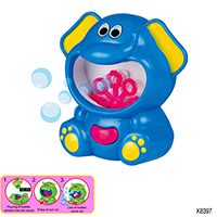 BUBBLE MACHINE W/BUBBLE SOLUTION (ELEPHANT DESIGN)