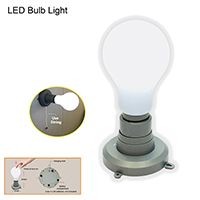 LIGHT BULB SHAPE PUSHLIGHT