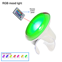 RGB MOOD LAMP WITH REMOTE CONTROL