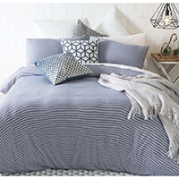 Bamboo/Cotton Jersey Knitted Duvet Cover Set