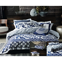 100% Cotton Panel Printed Duvet Cover Set