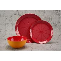 Melamine Orange Set