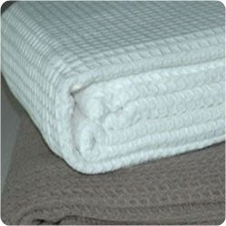 100pct Cotton Waffle Thermal Blankets