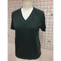 Ladies V Neck Knitted Tee