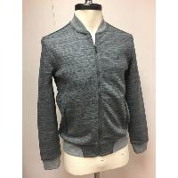 Mens Knitted Space Dye Jacket