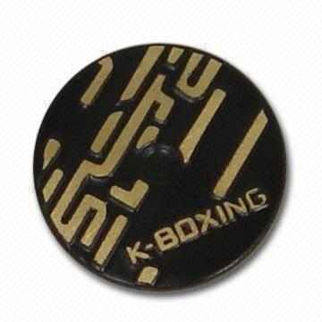15.4mm Snap Button with Polished Finish, Made of Brass