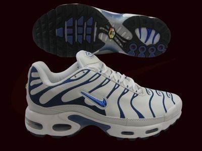 sale retailer 4950f 858ae Nike Air Max TN Plating Men s White-Blue