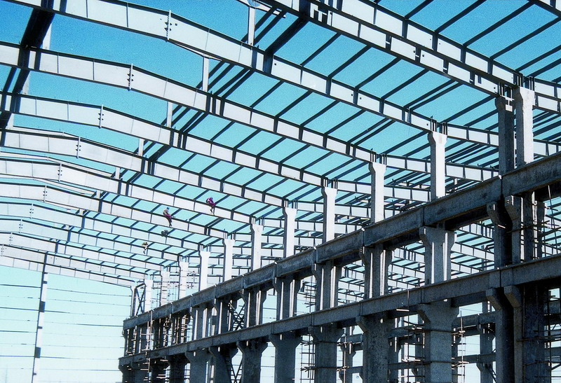 Sell Structural Steel Buildings With Corrugated Steel